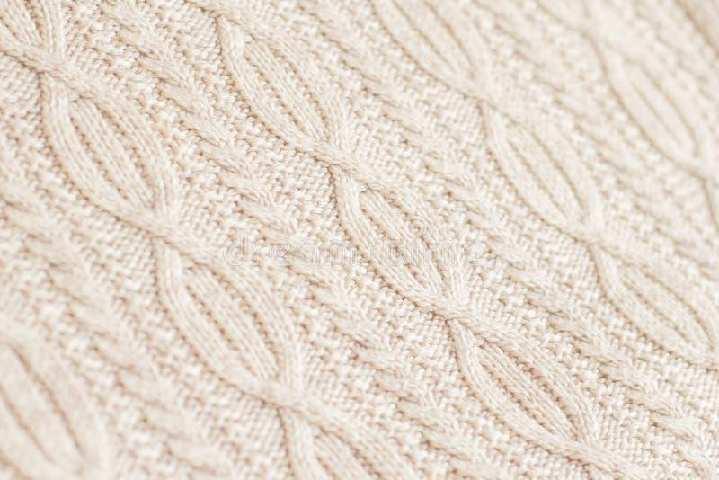 Stof van wol wordt gemaakt die royalty-vrije stock foto