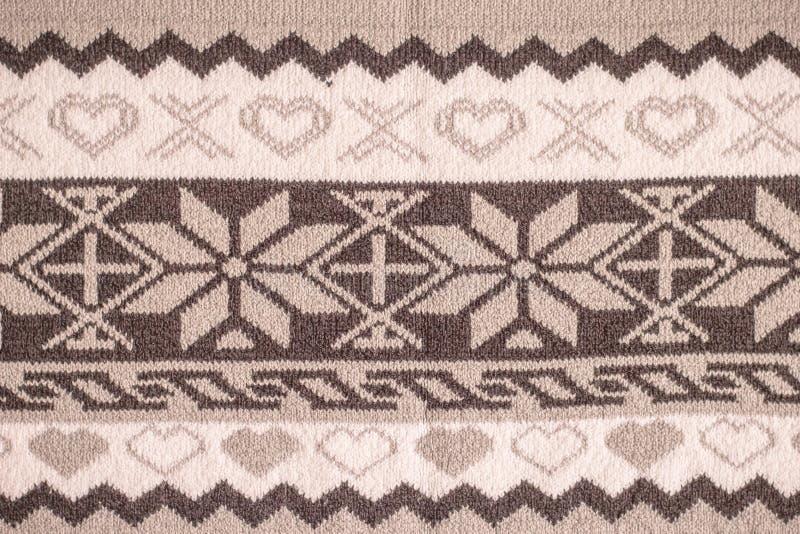 Stof van wol wordt gemaakt die stock foto