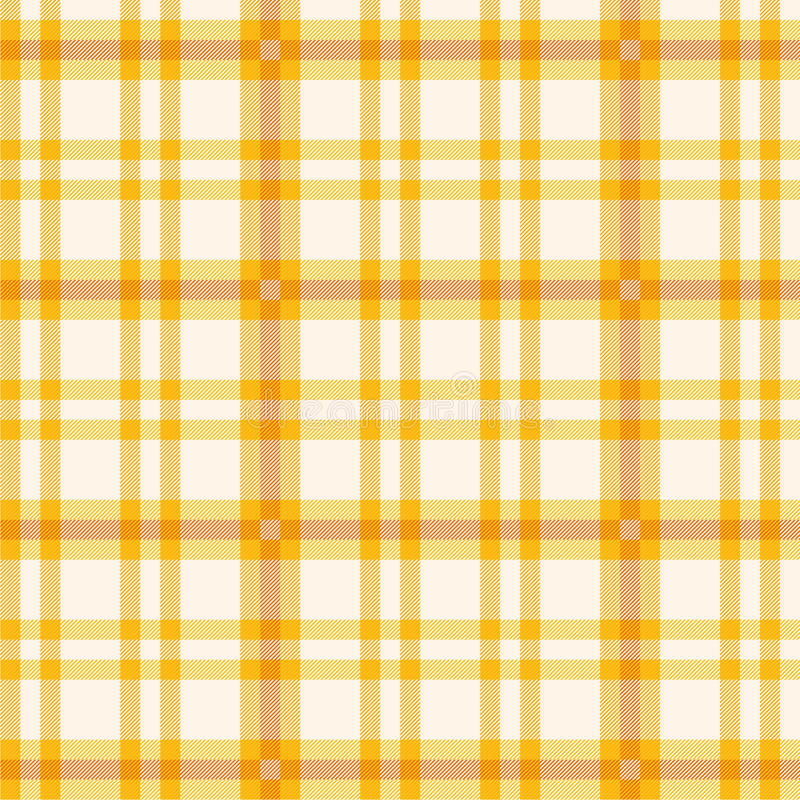 Stoff mit orange Muster vektor abbildung