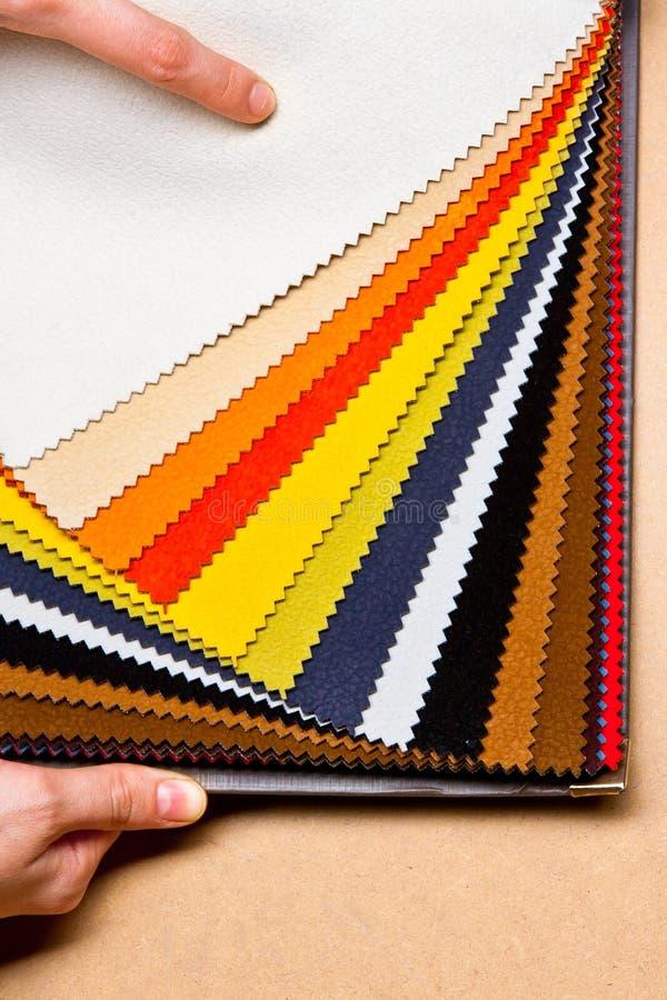 Stoffen textieltextuur stock afbeelding