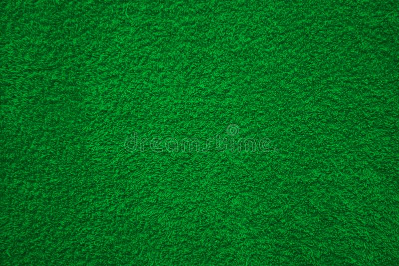 Stoffentextuur het groene bekleden stock afbeelding