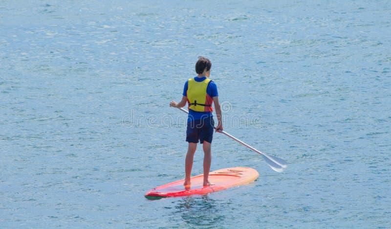Stoi up i paddle zdjęcia stock