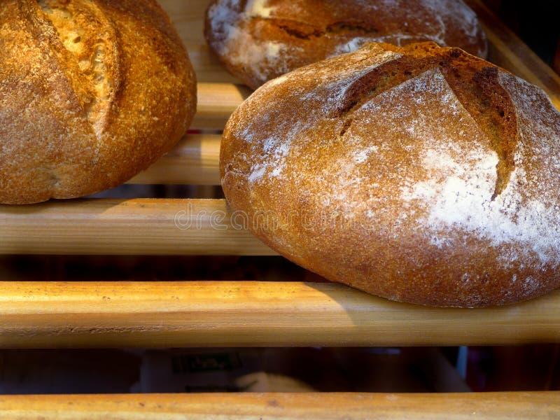 Stokbrood bij een bakkerij in Parijs royalty-vrije stock foto