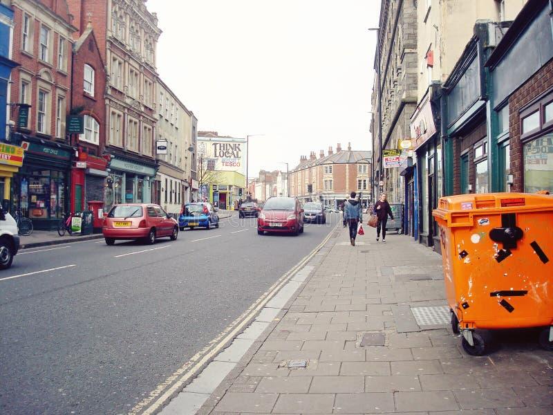 Stokes Croft à Bristol photo stock