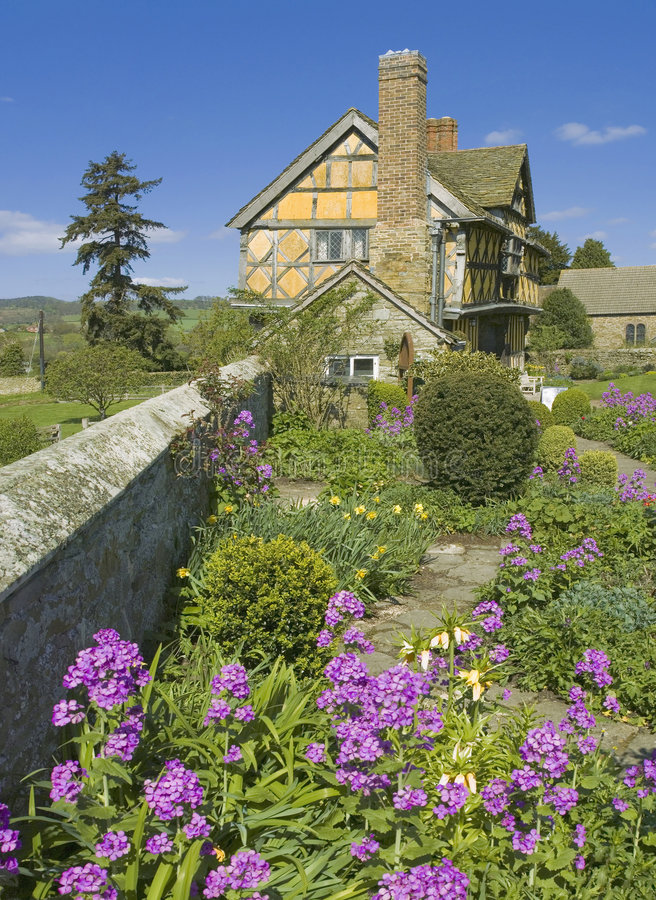 Download Stokesay Castle Stock Image - Image: 3949401