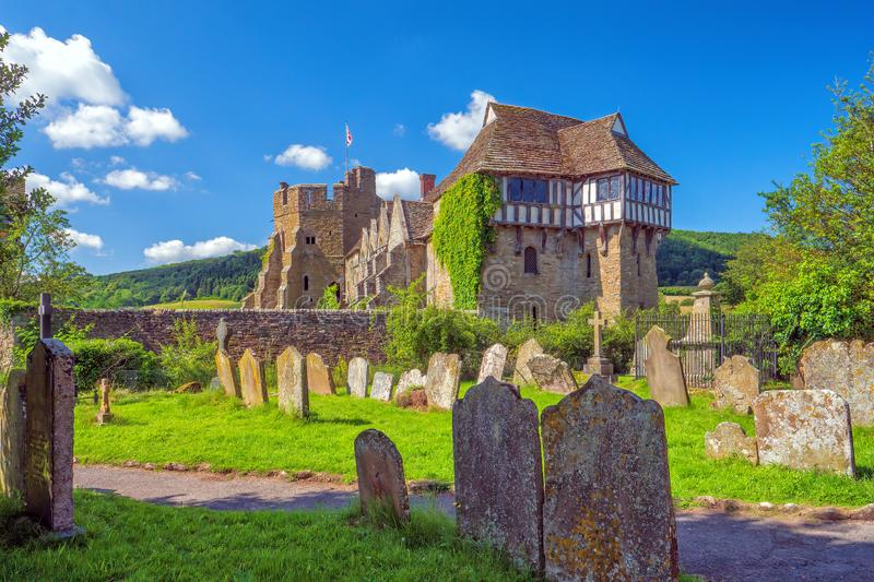 The North Tower, Stokesay Castle, Shropshire, England. royalty free stock photos