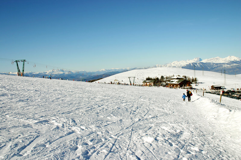 stoki narciarskie zdjęcia royalty free
