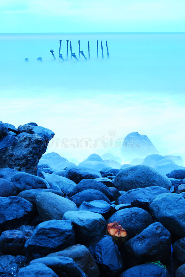 Stokken en Stenen stock fotografie