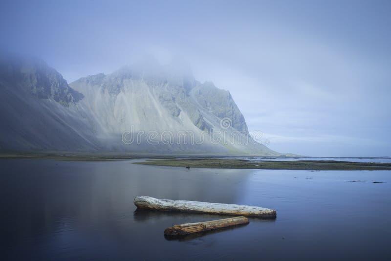 Stokksnes. In southeastern Icelandic coast, June 2015 stock images