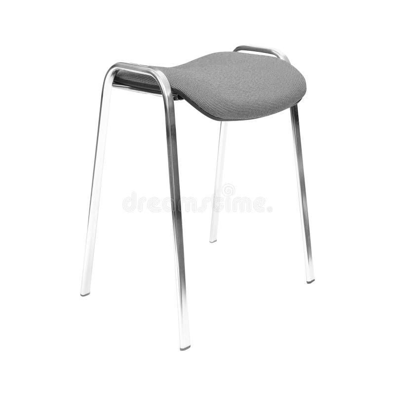 stol isolerad kontorswhite royaltyfri foto