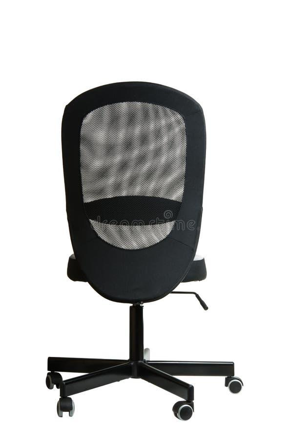 stol isolerat kontor royaltyfri bild
