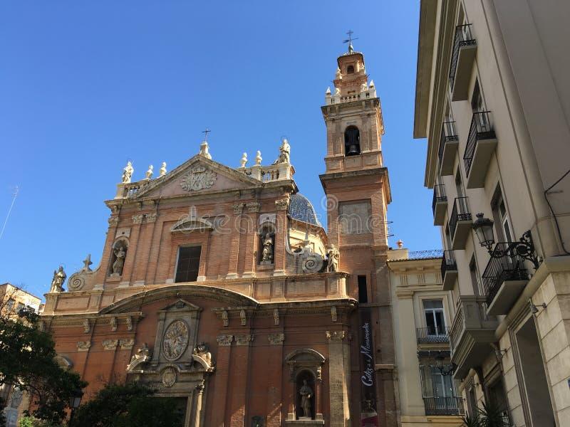 Stol y San Felipe Neri del ³ del ¡ s Apà di Iglesia de Santo Tomà fotografia stock