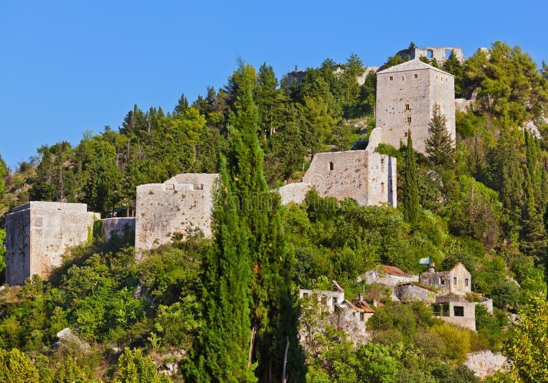 Stolac - Bósnia e Herzegovina fotos de stock royalty free