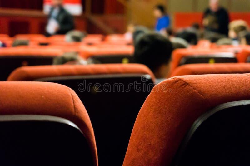 Stolar för konferensrum arkivfoton