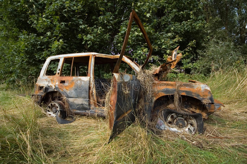 Download Stolen 4x4 stock photo. Image of thief, crashed, utility - 16860558