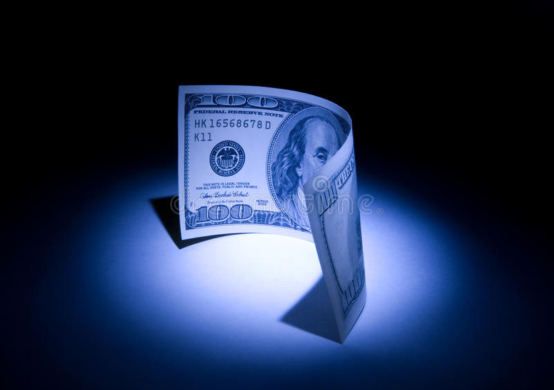 The stolen money royalty free stock images