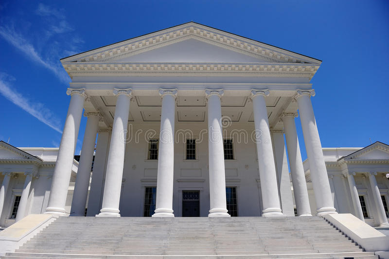 Stolica Kraju Virginia zdjęcia royalty free
