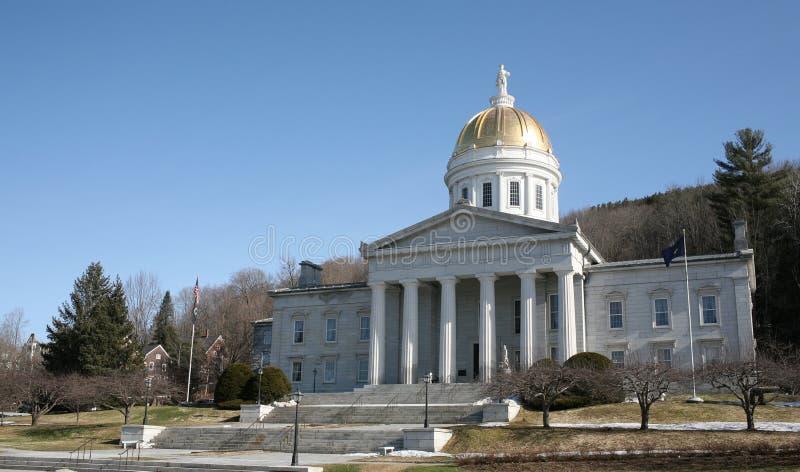 stolicy stanu Vermont zdjęcie royalty free