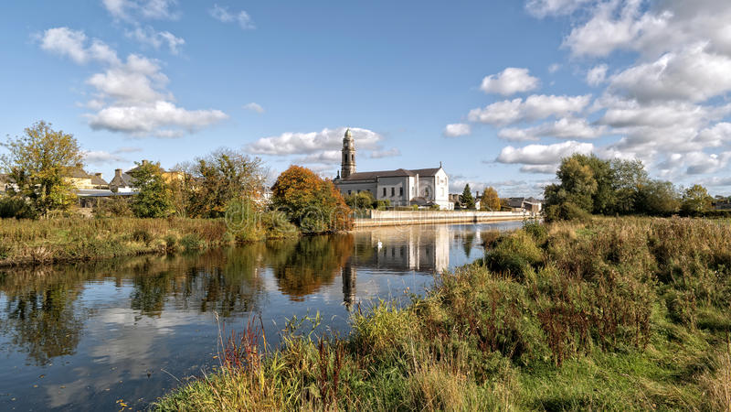 StOliver& x27; s教会在Clonmel 免版税库存图片