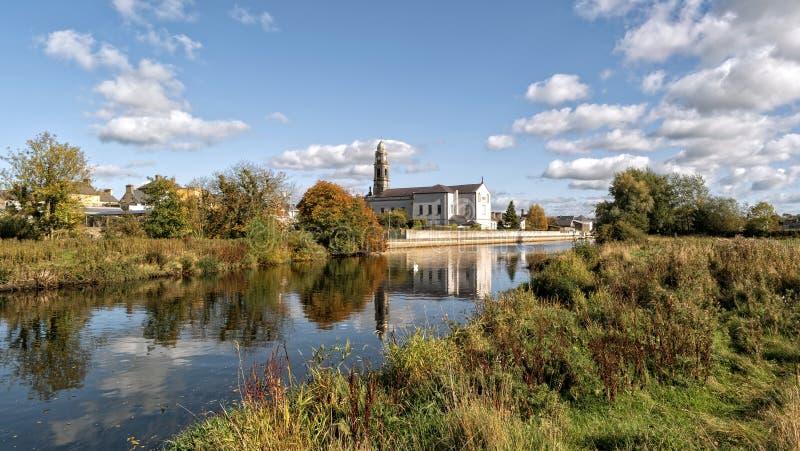 StOliver& x27; s kościół w Clonmel obraz royalty free