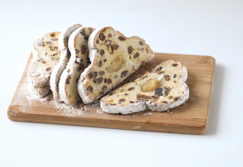 Stollen bread royalty free stock images