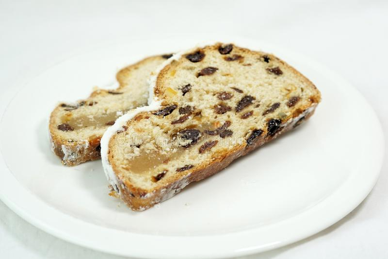 Stollen, Spotted Dick, Fruit Cake, Food Free Public Domain Cc0 Image