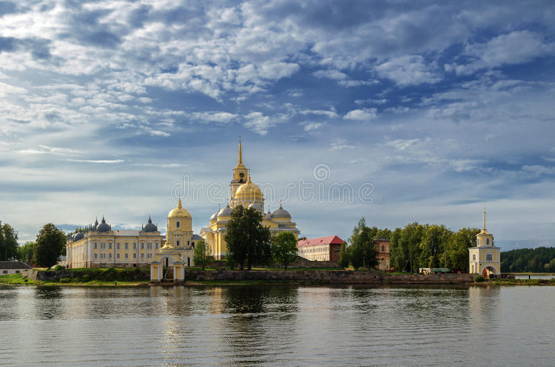 stolobensky monasteru nilo zdjęcie stock