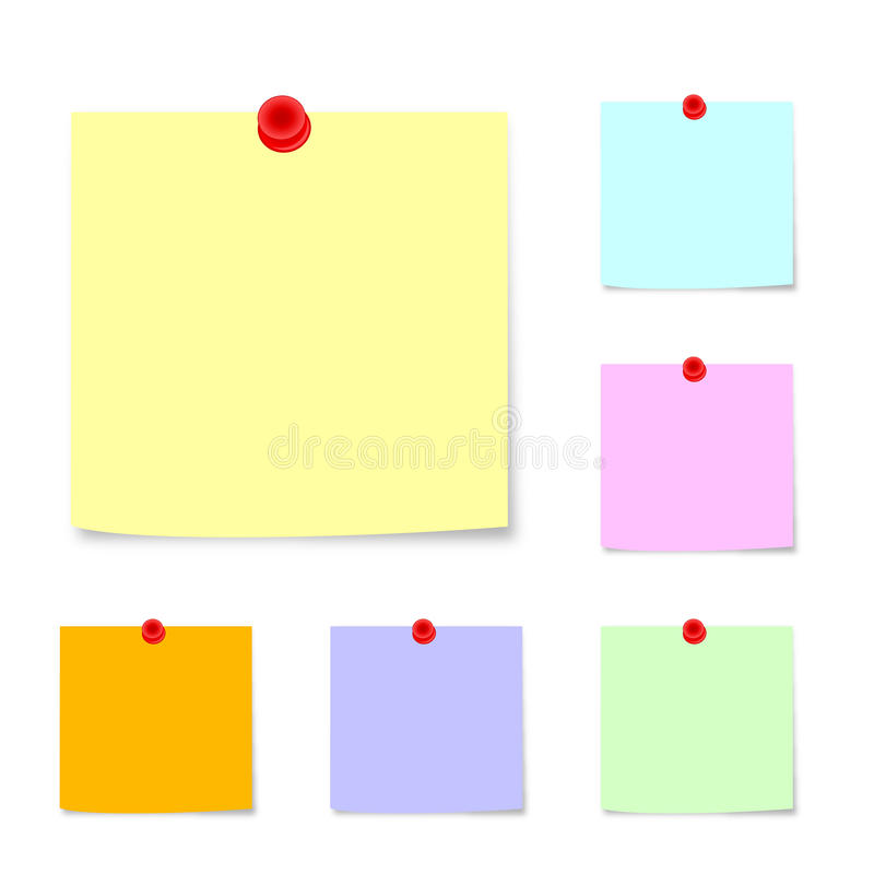 Stolpe-det noterar 2 stock illustrationer