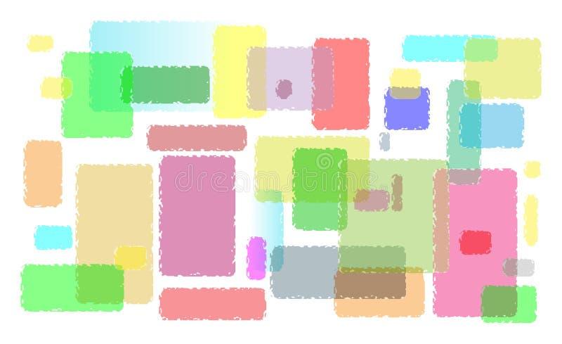 Stolpe-färgglade linjer av mellanrumet arkivfoton