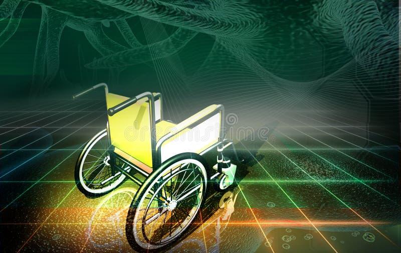 stolshjul royaltyfri illustrationer