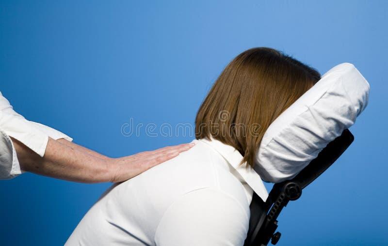 stolsmassage royaltyfri foto