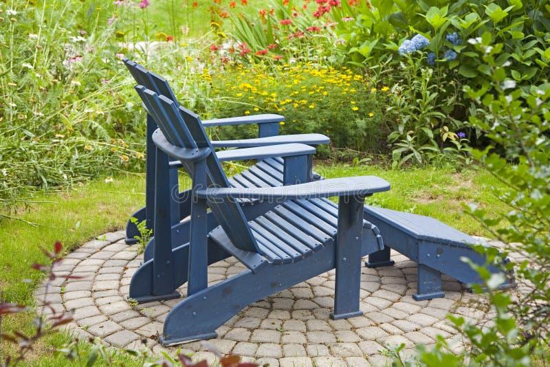 stolsträdgård royaltyfri fotografi