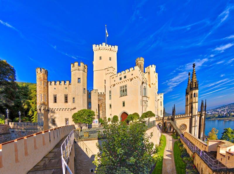Stolzenfels slott fotografering för bildbyråer