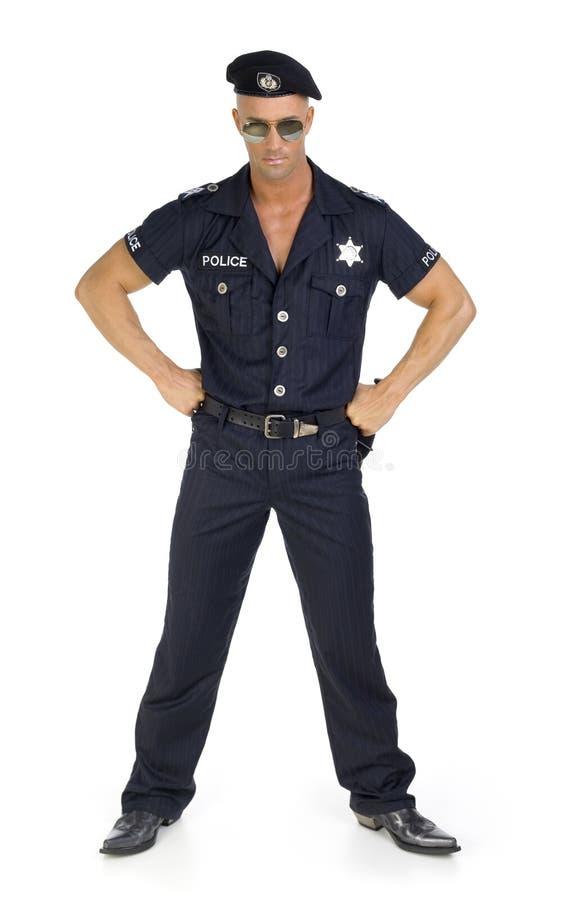 Stolzer Polizist lizenzfreie stockfotos
