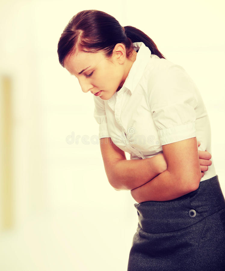 Stomach issues royalty free stock photos