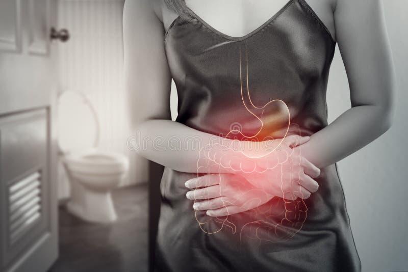 stomachache immagine stock libera da diritti