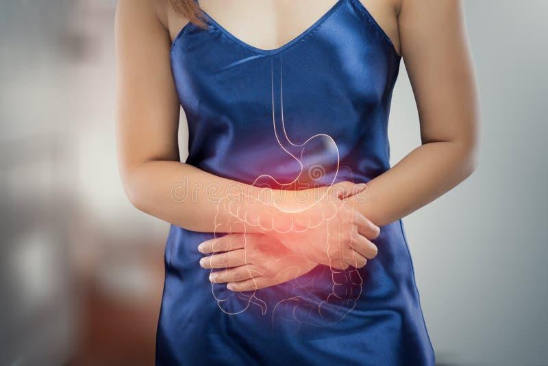 stomachache stock fotografie