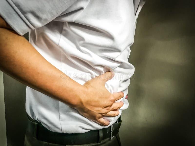 stomachache immagine stock