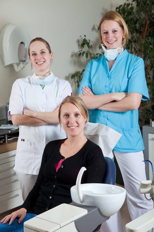 stomatologiczna drużyna obraz royalty free