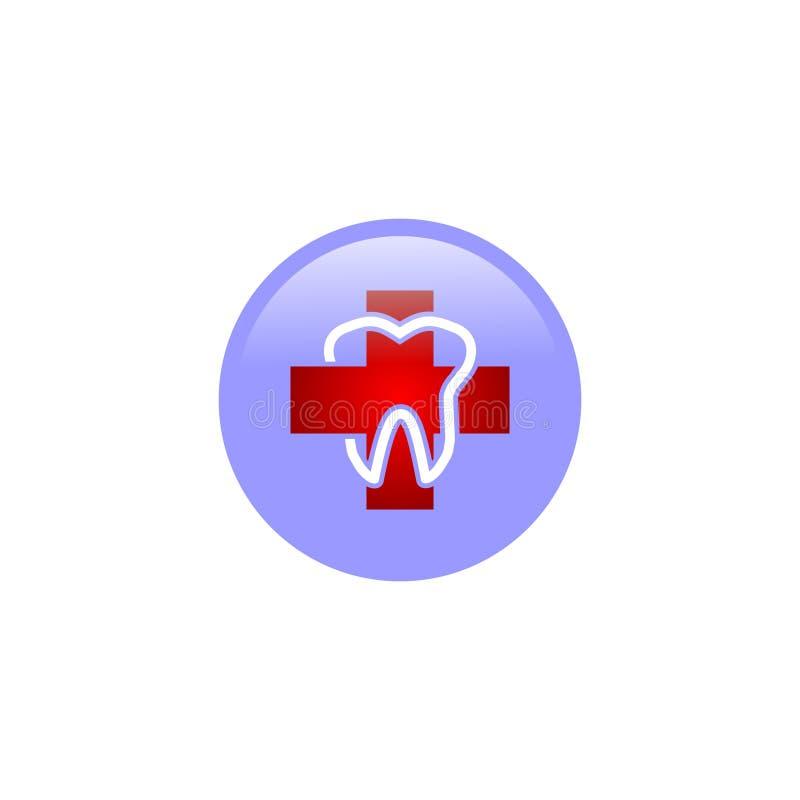Stomatologicznej opieki logo zdjęcie royalty free