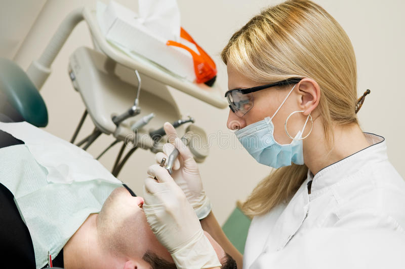 stomatologiczny leczenie obrazy stock