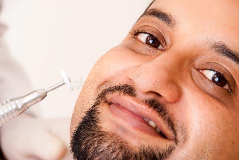 stomatologiczny pacjent fotografia stock