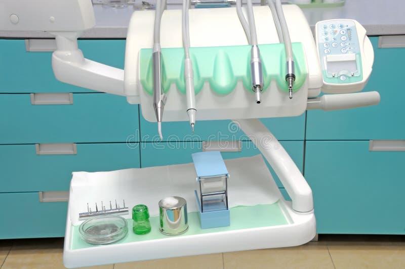 stomatologiczny wyposażenie obraz stock