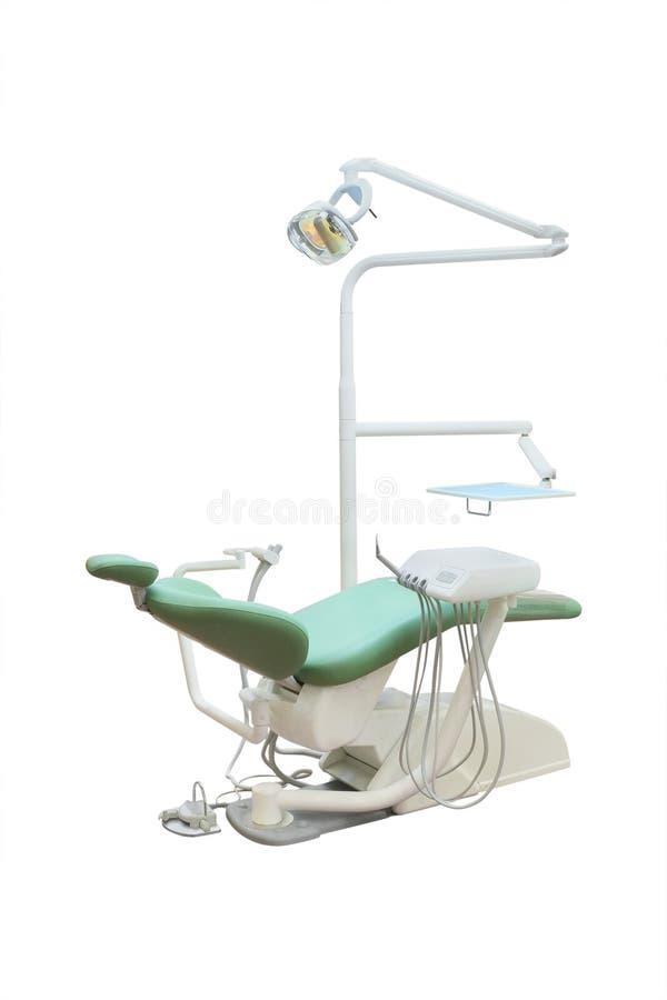 Stomatologische stoel royalty-vrije stock afbeelding