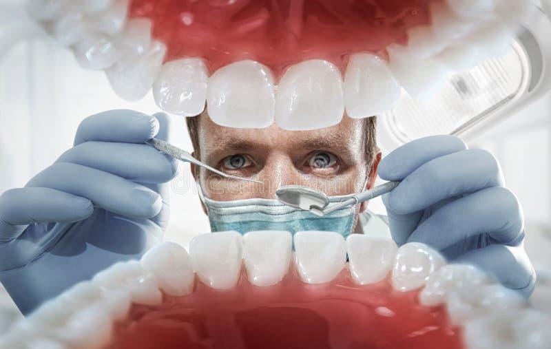 Stomatology, dentysta zdjęcia stock