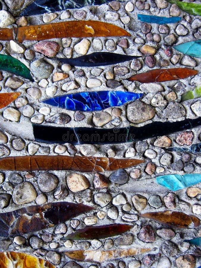 Stone και μωσαϊκό γυαλιού στοκ εικόνες