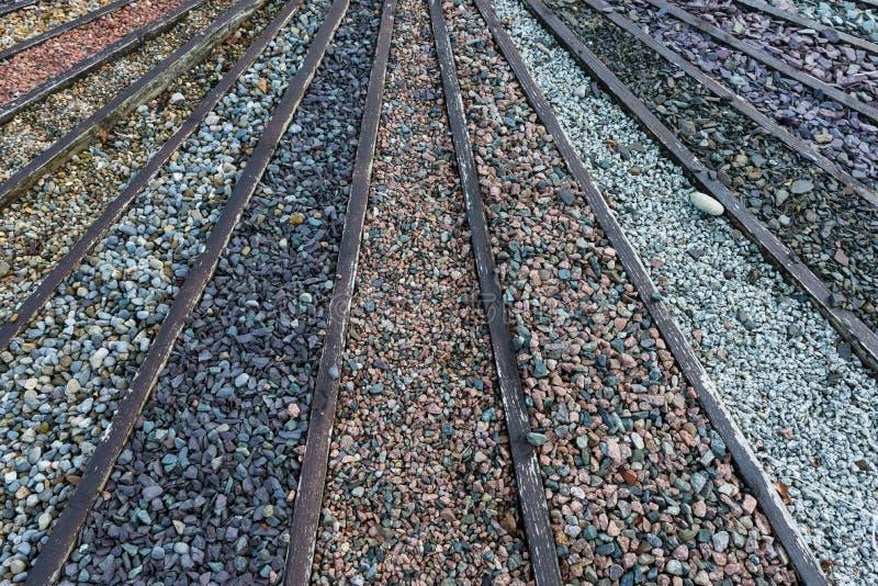 Stone και χαλίκια αμμοχάλικου στοκ φωτογραφίες
