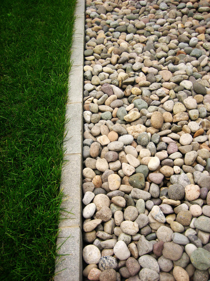 Free Stone And Grass Stock Photography - 17163792