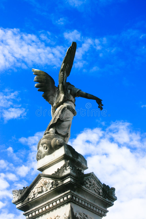 Stone Angel royalty free stock images