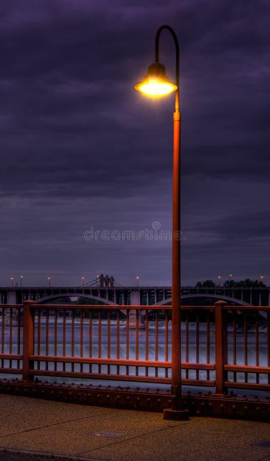Free Stone Arch Bridge Light Royalty Free Stock Images - 10432809